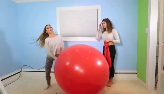Watch and share Giant Balloon Challenge! GIFs on Gfycat