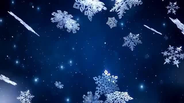Watch and share Футаж Для Фотомонтажа – Снежинки Кружатся Вокруг Нас GIFs on Gfycat