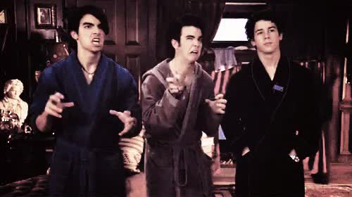 Watch Jonas Brothers robes GIF on Gfycat. Discover more related GIFs on Gfycat