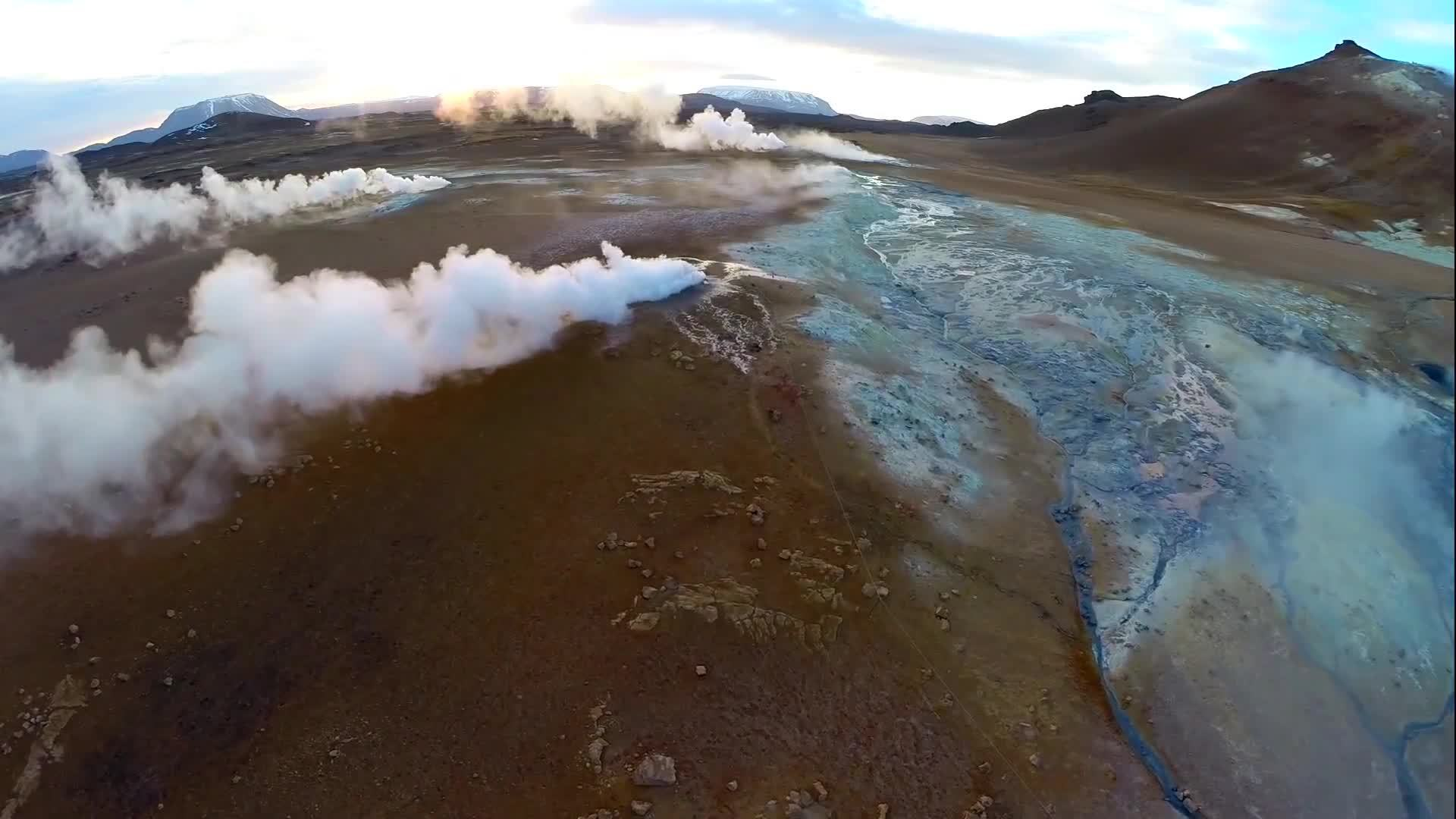 earthgifs, iceland, iceland drone, Iceland Drone + Timelapse GIFs