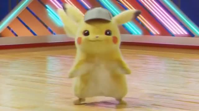 Watch Detective Pikachu Dancing gif GIF on Gfycat. Discover more related GIFs on Gfycat