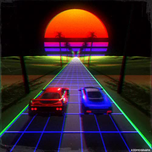 Watch and share Synthwave GIF - Find & Share On GIPHY GIFs on Gfycat