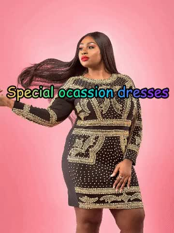 Watch and share Special Occasion Dresses GIFs by Regal Gold Boutique on Gfycat