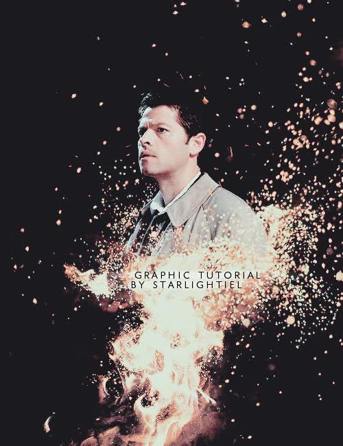 Watch Graphic Tutorial by starlightiel GIF on Gfycat. Discover more misha collins GIFs on Gfycat