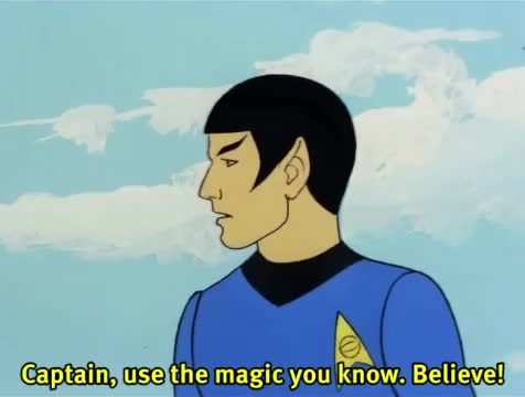 Watch and share Vintage Television GIFs and Captain Kirk GIFs by Gameraboy on Gfycat