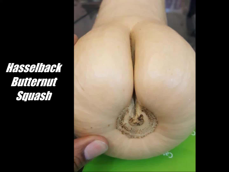 Hasselback Butternut Squash GIFs