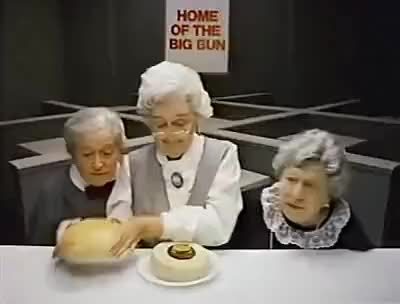 Watch 1984 Wendy's Where's the Beef? with Clara Peller #1 GIF on Gfycat. Discover more related GIFs on Gfycat