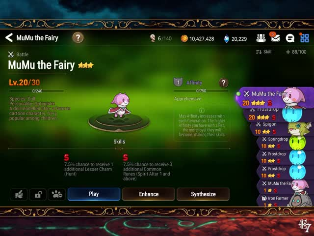 Watch and share Rune Pets GIFs by max821023 on Gfycat