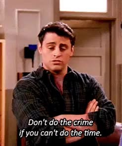 Watch and share Joey Tribbiani GIFs and Season 4 GIFs on Gfycat