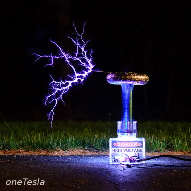 Watch and share .gif Of OneTesla Musical Tesla Coil GIFs on Gfycat