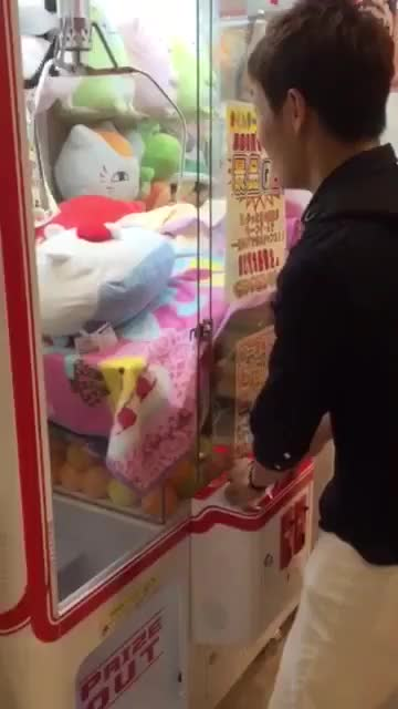 Watch How to win at claw machines GIF on Gfycat. Discover more InterestingGifs, gifs GIFs on Gfycat