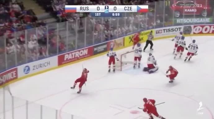 RUSvCZE first goal hug GIFs
