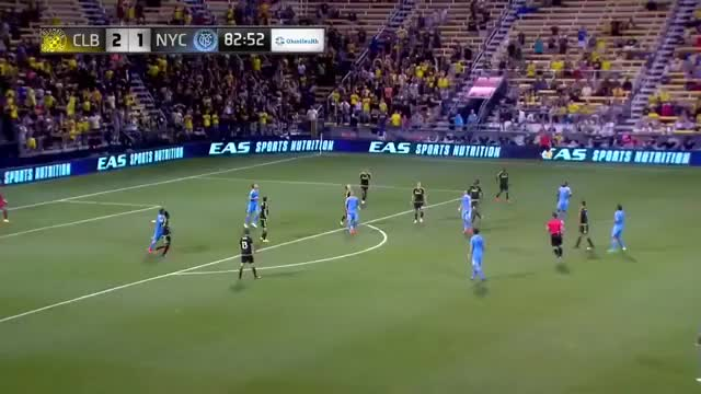 Watch and share David Villa Goal (assist From Pirlo) Vs Columbus [2-0] GIFs by blizbor on Gfycat