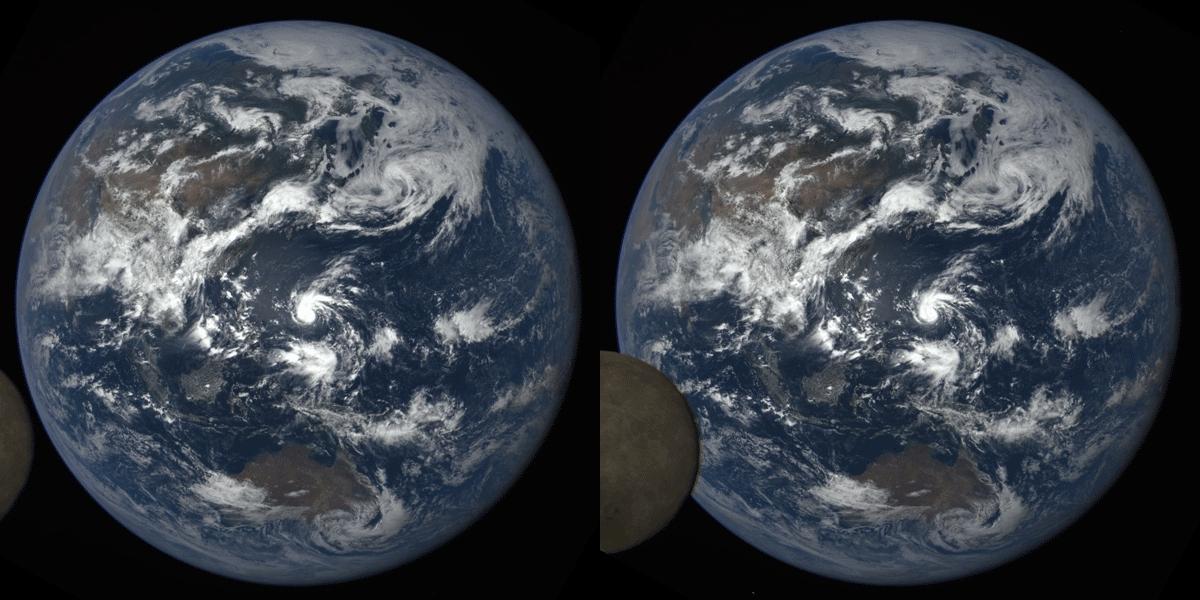 CrossView, crossview, earth, Earth & Moon (Crossview Conversion) GIFs
