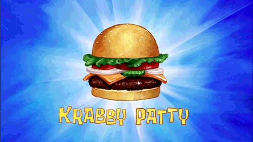 Watch and share Cangreburguer Krabby Patty Gif GIFs on Gfycat