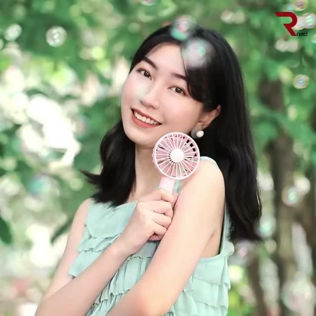 Watch and share 2019 신형 휴대용 핸디 7엽 저소음 선풍기 GIFs by aroo34 on Gfycat