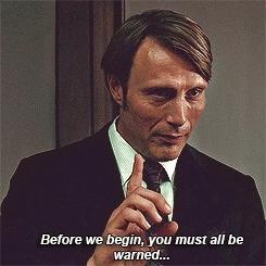hannibal, mads mikkelsen, Hannibal Lecter hannibal series GIFs