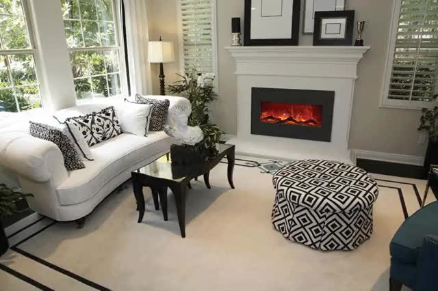 Watch and share Electric-fireplace2 GIFs by The Original Flame on Gfycat