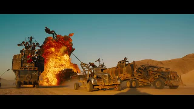 Watch and share Mad Max Fury Road - Official Theatrical Teaser Trailer [HD] GIFs by temk1s on Gfycat