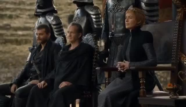 Watch and share Game Of Thrones 7x07 The Dragon Pit Meeting GIFs on Gfycat