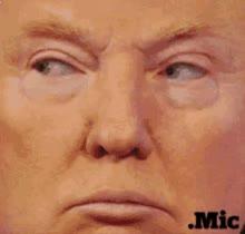 Watch and share Trump Eyeroll GIFs on Gfycat