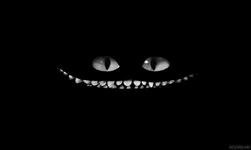 Watch and share Mygifs B&w Draw Alice In Wonderland Cheshire Cat GIFs on Gfycat