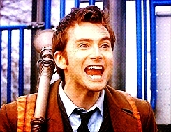 David Tennant, Excited Doctor GIFs