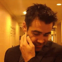 colin farrell, Interview- Candid GIFs