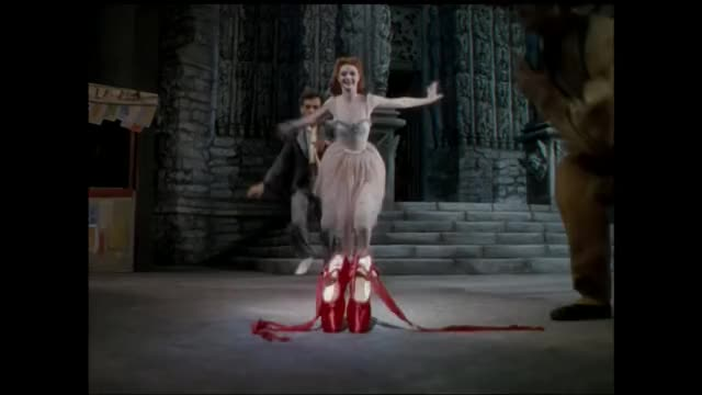 Watch The Red Shoes (1948) - Ballet Sequence GIF on Gfycat. Discover more ballet, dance, dancing, emeric pressburguer, michael powell, moira shearer, the red shoes, victoria page GIFs on Gfycat