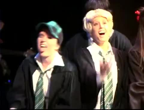 Watch and share Draco Malfoy GIFs and Slytherin GIFs on Gfycat