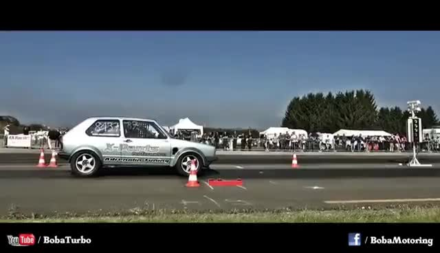 Watch and share 16Vampir VW AWD World Record 8,29s @ 281kmh 2014 NEW VERSION GIFs on Gfycat