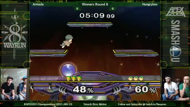 APEX 2013   SSBM W6   Armada VS Hungrybox