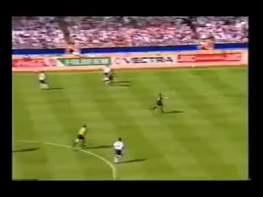 Watch and share Paul Gascoigne Lovely Goal For England Vs Scotland GIFs on Gfycat