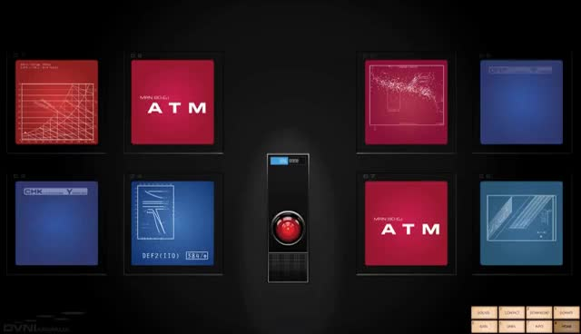 Watch and share HAL 9000 GIFs on Gfycat