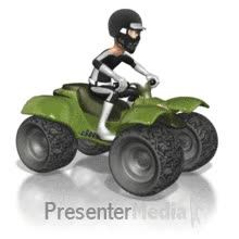 Watch and share Riding Atv PowerPoint Animation GIFs on Gfycat