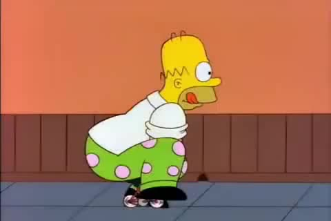 Watch and share Homer Clown GIFs on Gfycat