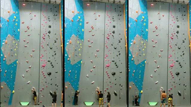 Watch and share New Climber Vs. Experienced Climber Vs. Speed Climber GIFs on Gfycat