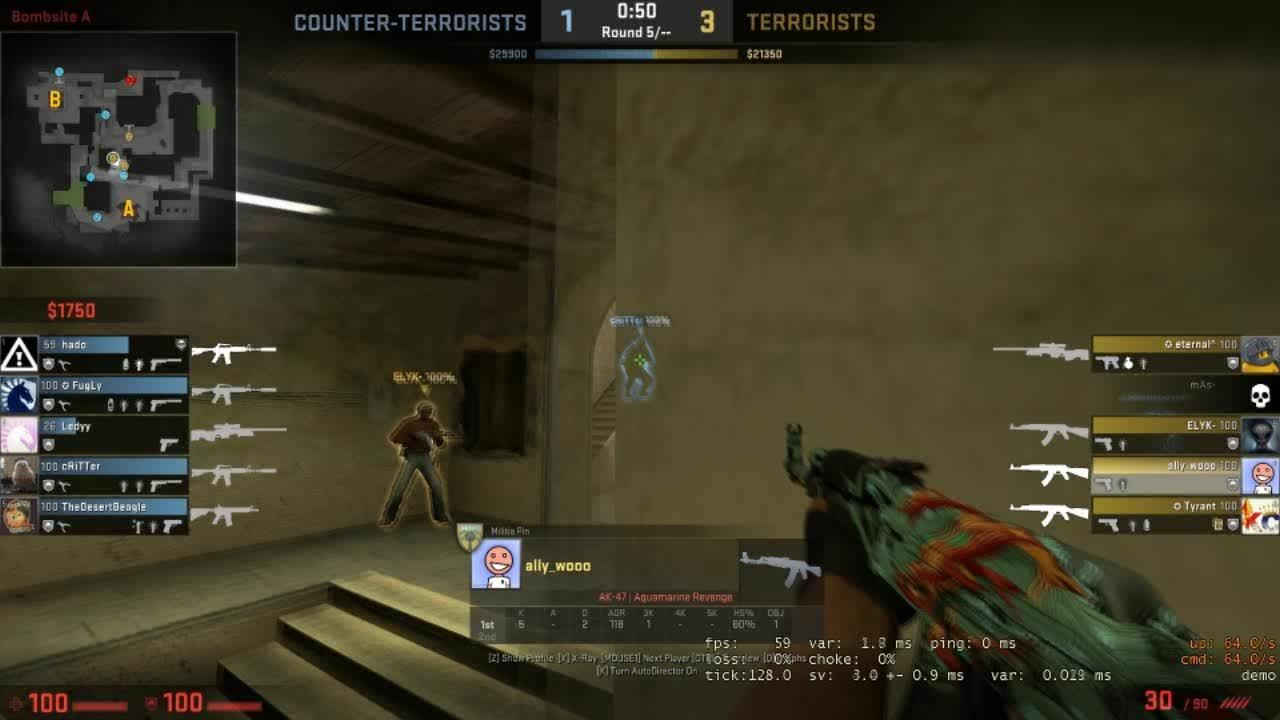 counterstrike, when they still talk shit about you GIFs