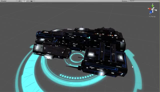 Watch and share Starlost New Ship Skin GIFs on Gfycat