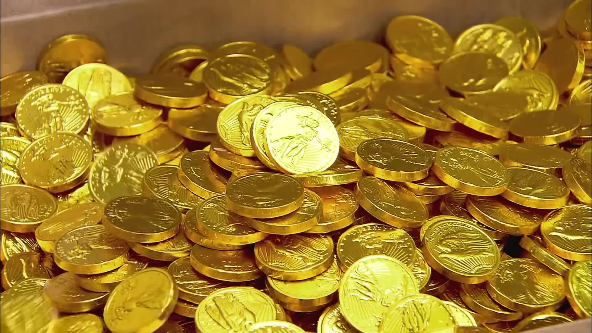 Гифы золото