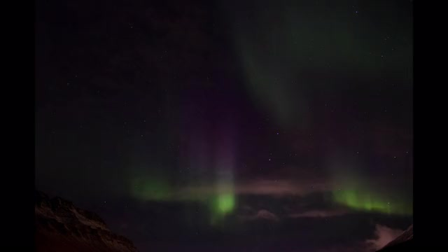Watch Northern Lights above Longyearbyen GIF on Gfycat. Discover more related GIFs on Gfycat