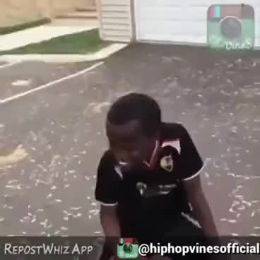 Watch and share Funny Kid Dancing With Basketball GIFs on Gfycat