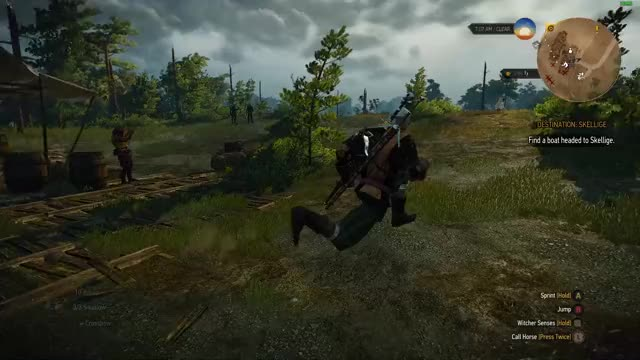 Watch and share Witcher 3 GIFs and Gaming GIFs by captainwater on Gfycat