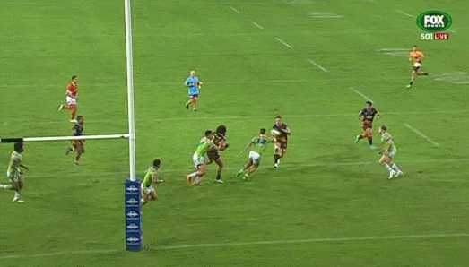 Corey Parker opens the scoring against Canberra GIFs