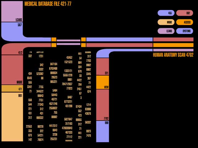 Watch Anatomy Scan GIF by Star Trek gifs (@star-trek-gifs) on Gfycat. Discover more LCARS, Star Trek, Star Trek Computer GIFs on Gfycat