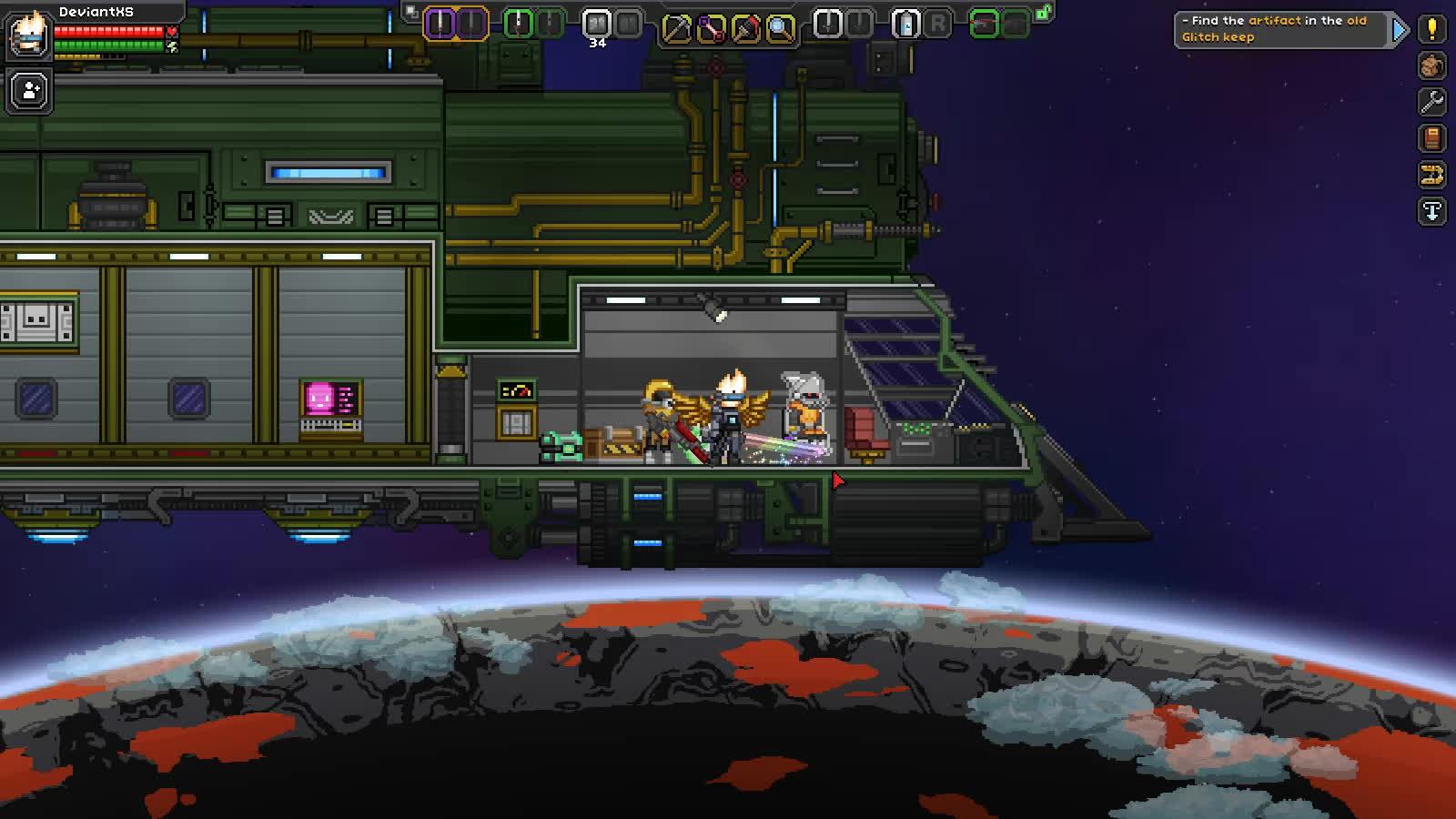 Game, Starbound, My Starbound Ship Decoration GIFs