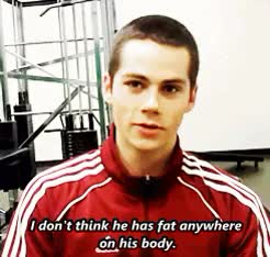 Watch and share Teen Wolf Interview GIFs and Stiles Stilinski GIFs on Gfycat