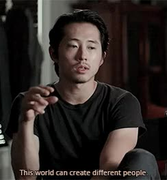 Watch glenn twd GIF on Gfycat. Discover more steven yeun GIFs on Gfycat