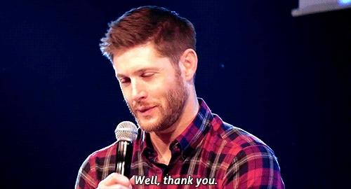 Jensen Ackles, blessing, thanks, thankyou, thank you GIFs