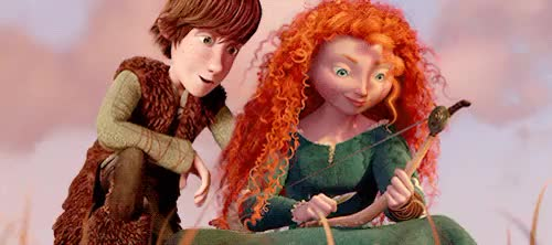 Watch In which Merida and Hiccup are slowly, slowly falling in lov GIF on Gfycat. Discover more Mericcup, ROMANCE!!!!!!!!!!!!!!!!!!, gif, hiccup, manip, merida, more 1000+ follower prezzies, rotbtd, the big four GIFs on Gfycat